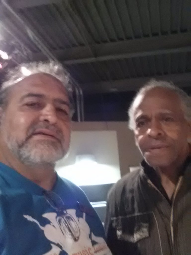 with bassist Cecil McBee